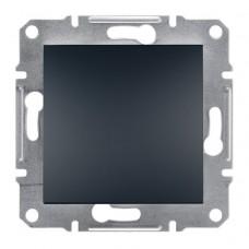 1-клавішний вимикач IP 44 Schneider Asfora Антрацит (EPH0100271)