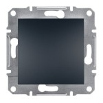 1-клавішний перехресний вимикач Schneider Electric Asfora 10A Антрацит (EPH0500171)