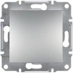 1-клавішний вимикач Schneider Electric Asfora IP44 Алюміній (EPH0100261)