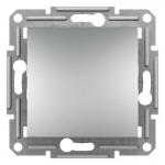 1-клавішний прохідний вимикач Schneider Electric Asfora Алюміній (EPH0400161)