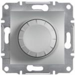 Світлорегулятор (диммер) поворотний Schneider Electric Asfora 40-600 Вт Алюміній (EPH6400161)