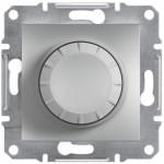 Світлорегулятор (диммер) поворотний Schneider Electric Asfora 25-325 Вт Алюміній (EPH6600161)