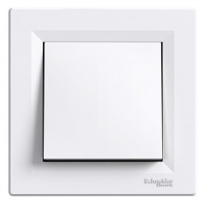 Кнопка Schneider Electric Asfora самозатискна Біла (EPH0700121)