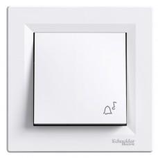 Кнопка 'Дзвінок' Schneider Electric Asfora Білий (EPH0800121)