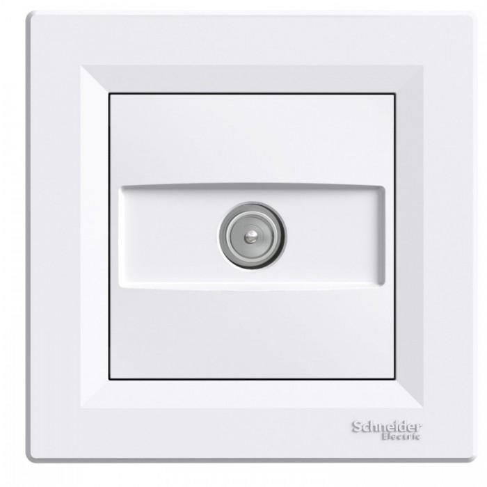 ТВ-розетка Schneider Electric Asfora прохідна Білий (EPH3200221)