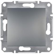 1-клавішний вимикач Schneider Electric Asfora IP44 Сталь (EPH0100262)