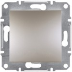 1-клавішний вимикач Schneider Electric Asfora Бронза (EPH0100169)