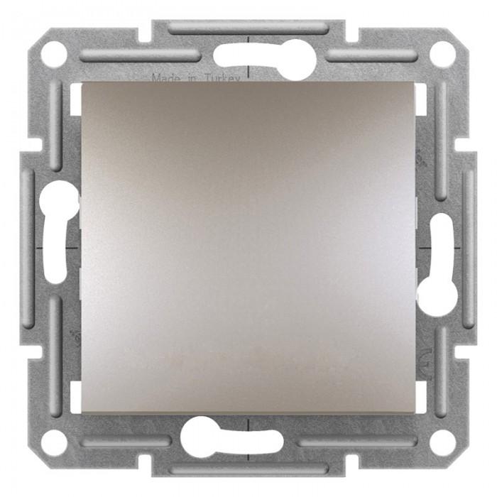 1-клавішний прохідний вимикач Schneider Electric Asfora Бронза (EPH0400169)