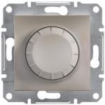 Світлорегулятор (диммер) поворотний Schneider Electric Asfora 25-325 Вт Бронза (EPH6600169)