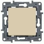 1-клавішний перехресний вимикач Legrand Etika Слонова кістка (664804)