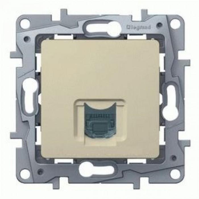Комп'ютерна розетка Legrand Etika Слонова кістка (672341)