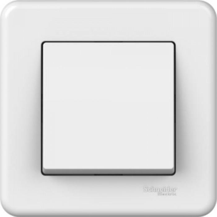1-клавішний прохідний вимикач Schneider Electric Leona Білий (LNA0400321)