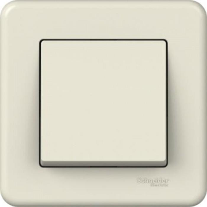 1-клавішний вимикач Schneider Electric Leona Слонова кістка (LNA0100323)