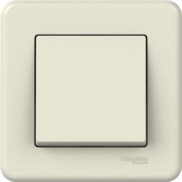 1-клавішний прохідний вимикач Schneider Electric Leona Слонова кістка (LNA0400323)