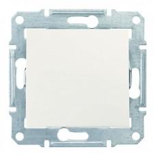 1-клавішний вимикач Schneider Electric Sedna Слонова кістка (SDN0100123)