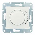 Світлорегулятор (диммер) поворотно-натискний Schneider Electric Sedna 60-500 Вт індуктивний Слонова кістка (SDN2200523)