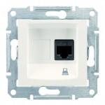 Комп'ютерна розетка кат. 5e Schneider Electric Sedna Слонова кістка (SDN4300123)