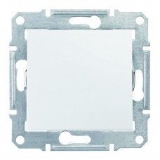 1-клавішний вимикач Schneider Electric Sedna IP44 Білий (SDN0100321)