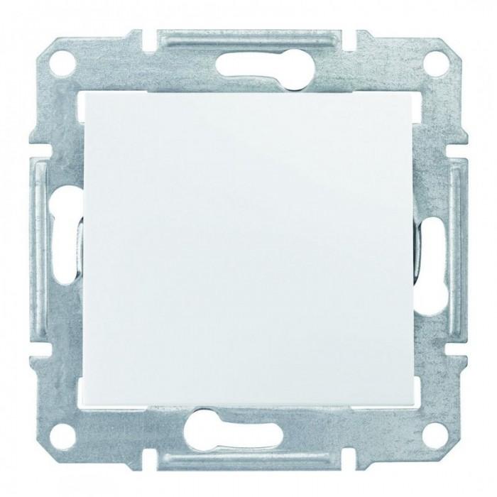 1-клавішний прохідний вимикач Schneider Electric Sedna Білий (SDN0400121)