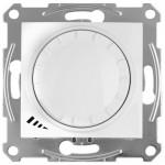Світлорегулятор (диммер) поворотно-натискний Schneider Electric Sedna 4-400 Вт Білий (SDN2201221)