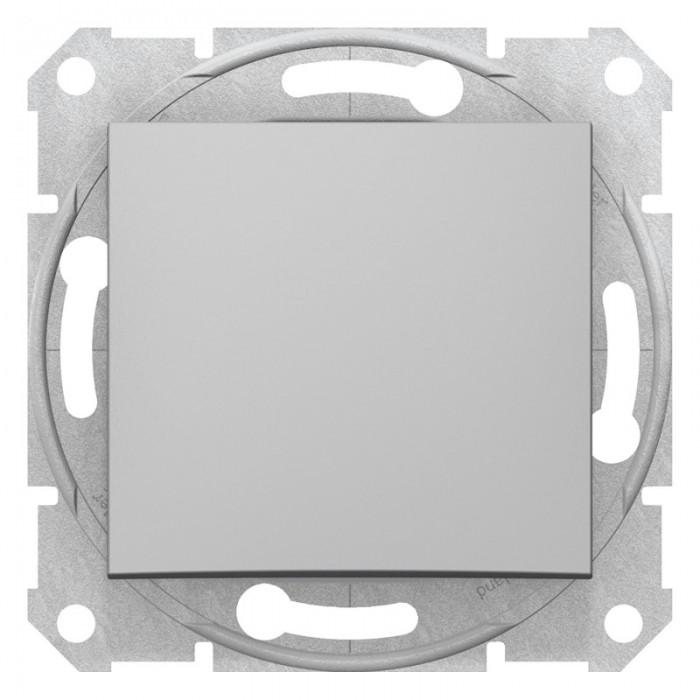 1-клавішний перехресний вимикач Schneider Electric Sedna Алюміній (SDN0500160)
