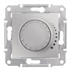 Світлорегулятор (диммер) поворотний Schneider Electric Sedna 25-325 Вт ємкісний Алюміній (SDN2200660)