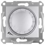 Світлорегулятор (диммер) LED поворотно-натискний Schneider Electric Sedna 4-400 Вт універсальний Алюміній (SDN2201260)
