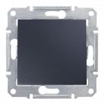 1-клавішний прохідний вимикач Schneider Electric Sedna Графіт (SDN0400170)