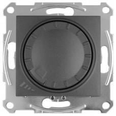 Світлорегулятор (диммер) LED поворотно-натискний Schneider Electric Sedna 4-400 Вт універсальний Графіт (SDN2201270)