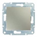1-клавішний вимикач Schneider Electric Sedna Титан (SDN0100168)