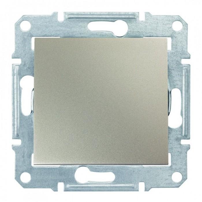 1-клавішний прохідний вимикач Schneider Electric Sedna Титан (SDN0400168)