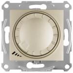 Світлорегулятор (диммер) LED поворотно-натискний Schneider Electric Sedna 4-400 Вт універсальний Титан (SDN2201268)