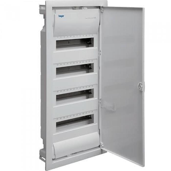 Вбудований розподільчий щит Hager Volta на 48 модулів Білий (VU48UA)