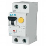 Диференціальний автомат Eaton 2p 10 А 30 мА тип С (286465)
