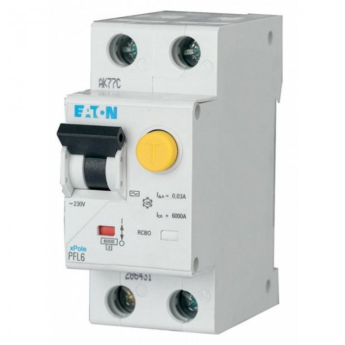 Диференціальний автомат Eaton 2p 20 А 30 мА тип С (286468)