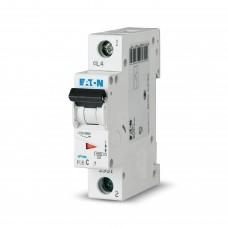 Автоматичний вимикач Eaton PL6-C63/1 1Р 63 А тип С (286539)