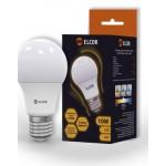 Світлодіодна лампа ELCOR Е27 A60 10Вт 4200K (534306)