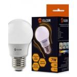 Світлодіодна лампа ELCOR Е27 A55 7Вт 2700K (534319)