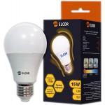 Світлодіодна лампа ELCOR Е27 A65 15Вт 2700K (534322)