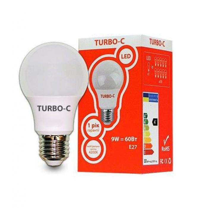 Світлодіодна лампа ELCOR TURBO-C Е27 A60 9Вт 4200K (534331)