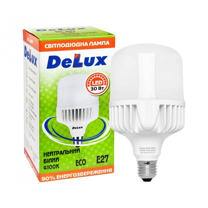 Світлодіодна лампа DELUX BL 80 30 Вт 6500K 220В E27 (90007010)