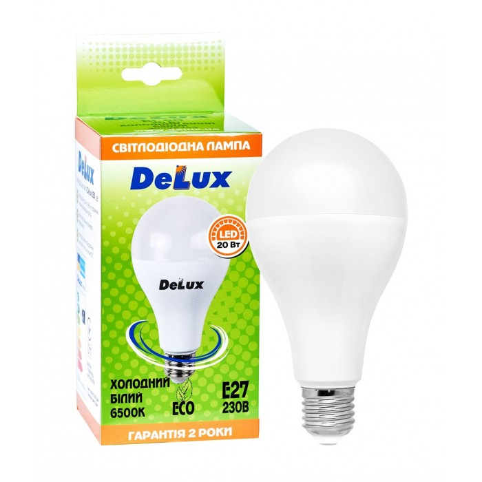 Світлодіодна лампа DELUX BL 80 20 Вт 6500K 220В E27 (90011735)