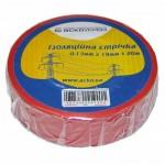 Ізоляційна стрічка АСКО-УкрЕМ 0,13мм 19мм / 20м Червоний (A0150020042)