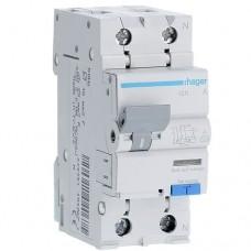 Диференціальний автомат Hager 2p 10 А 30 мА тип С (AD960J)