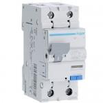 Диференціальний автомат Hager 2p 20 А 30 мА тип С (AD970J)