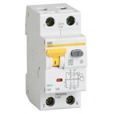 Диференціальний автомат IEK 2p 10 А 30 мА тип С (MAD22-5-010-C-30)