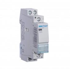 Модульний контактор Hager 230В/25А 1НВ+1НЗ (ESC227)