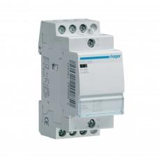 Модульний контактор Hager 230В/25А 3НВ (ESC325)