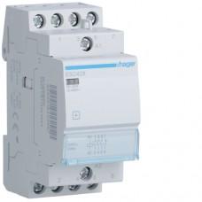 Модульний контактор Hager 230В/25А 3НВ+1НЗ (ESC428)