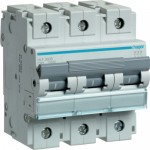 Автоматичний вимикач HAGER 3Р 80 А тип С (HLF380S)